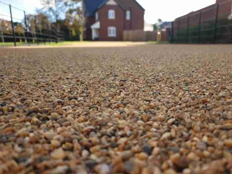 DecraStone Resin Bonded Gravel Driveway - Morris Homes Dunchurch