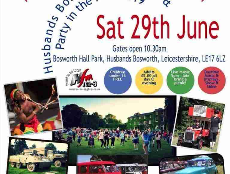 Husband Bosworth Festival Flyer