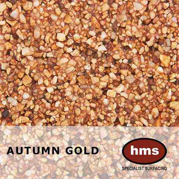 Autumn Gold - Resin Bonded Sample