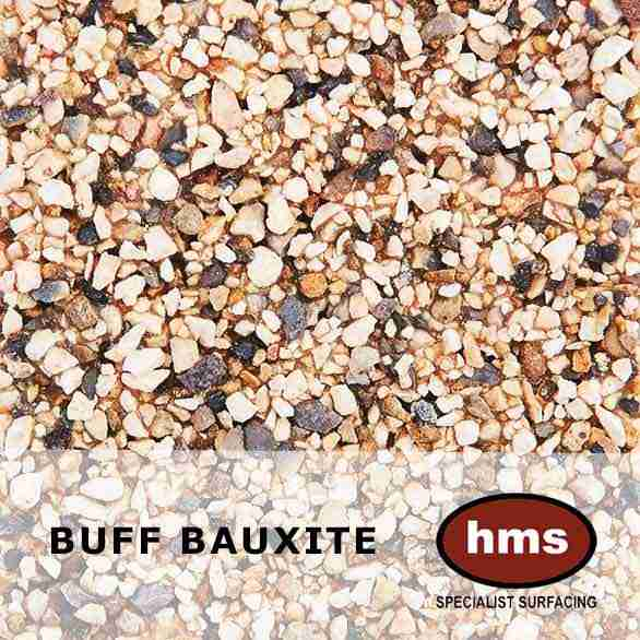 Buff Bauxite - Resin Bonded Sample