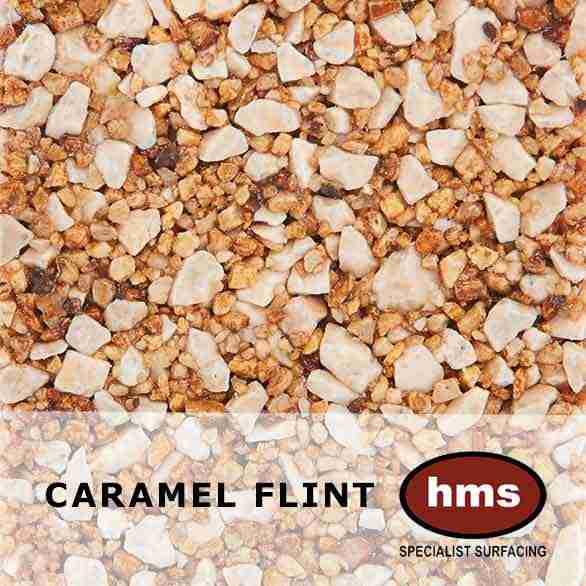 Caramel Flint - Resin Bound Sample