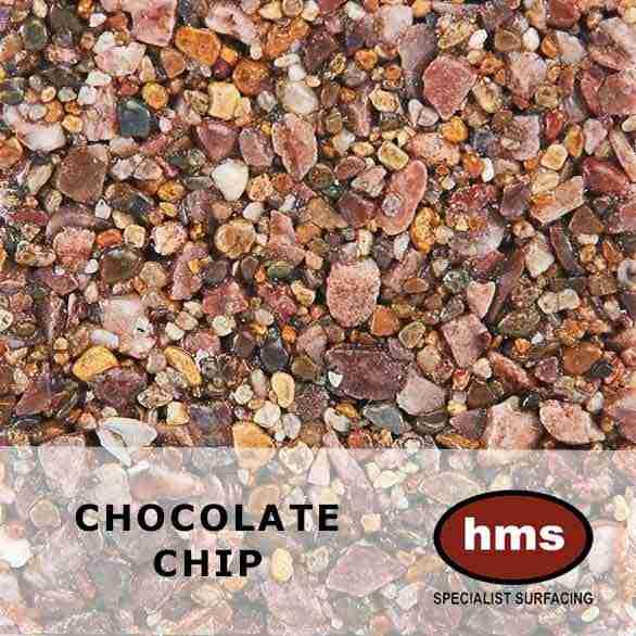Chocolate Chip - Resin Bound Sample