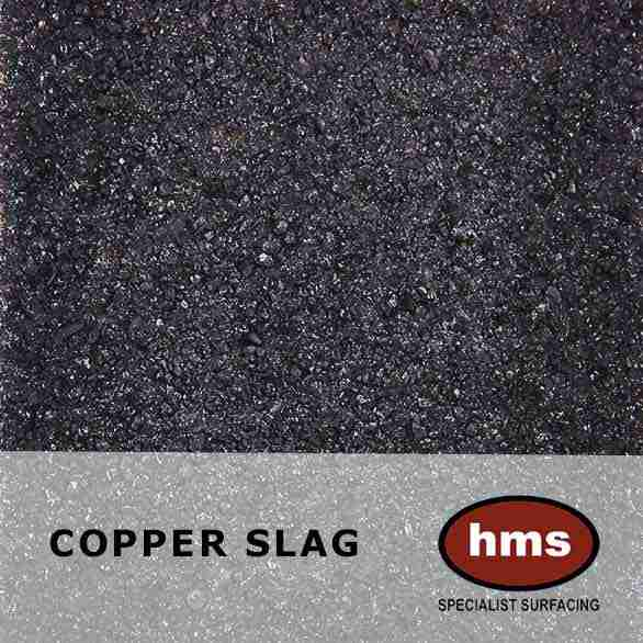 Copper Slag - Resin Bonded Sample