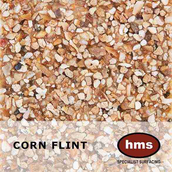 Corn Flint - Resin Bonded Sample