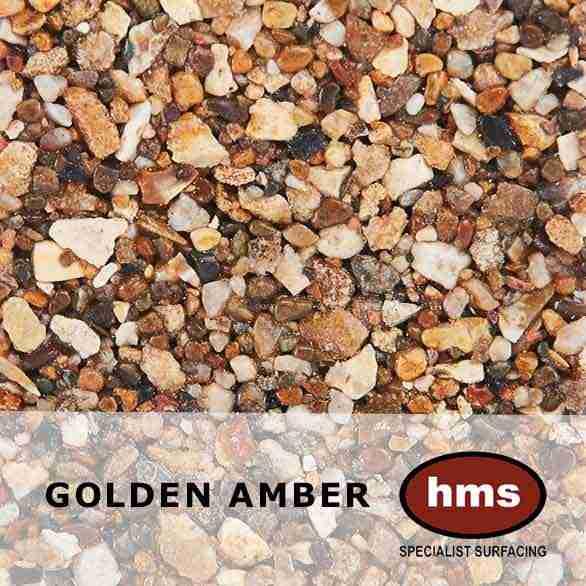 Golden Amber - Resin Bound Sample