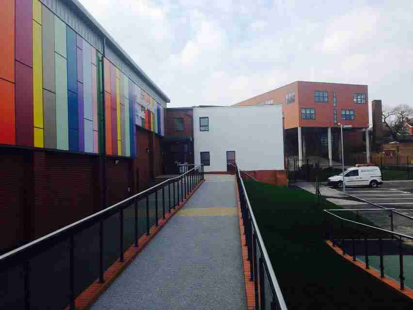 Industrial & Commercial - Moseley School Resin Bound Surfacing