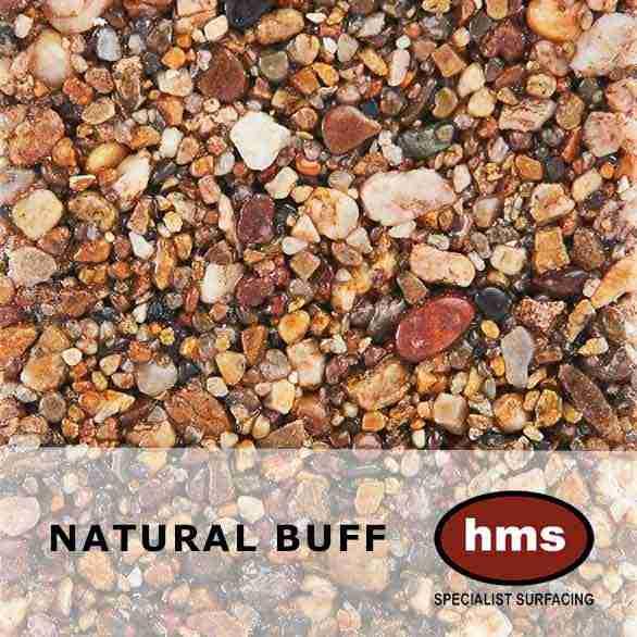 Natural Buff - Resin Bound Sample