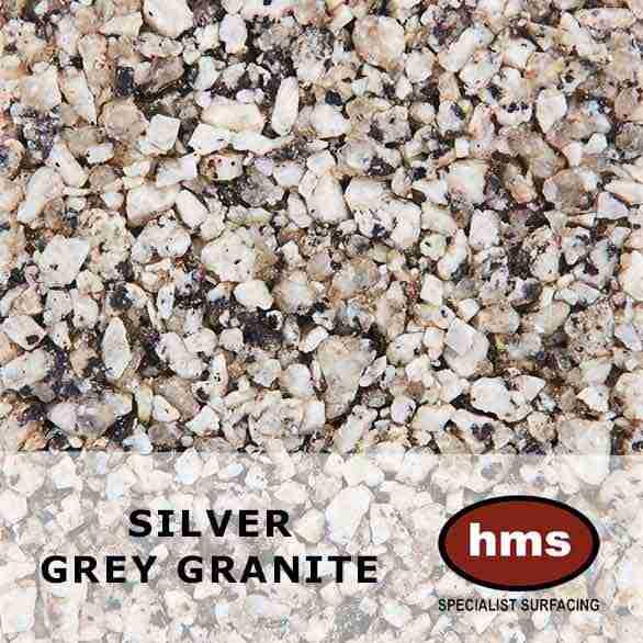 Silver Grey Granite - Resin Bound Sample