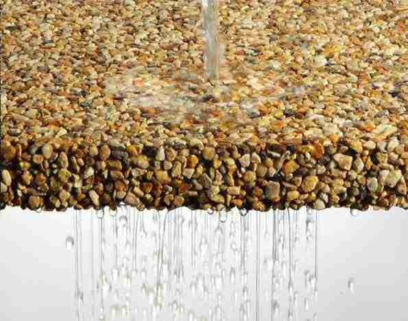 Resin Bound Surfacing - Water Permeable