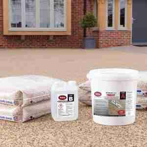 **NEW** Decra-Set UVR SUPER 6 Porous Resin Bound Paving – Trade Kit with Aggregate