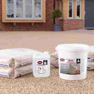 Decra-Set Resin Bound Porous Paving – Extra Strength Trade Kit with Aggregate