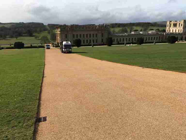 DecraStone Resin Bonded Surfacing - Chatsworth House, Derbyshire