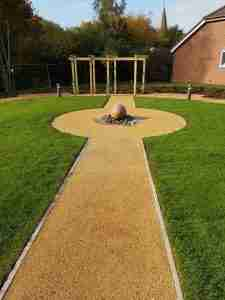 DecraStone Resin Bonded Path - Care Home, Horsham