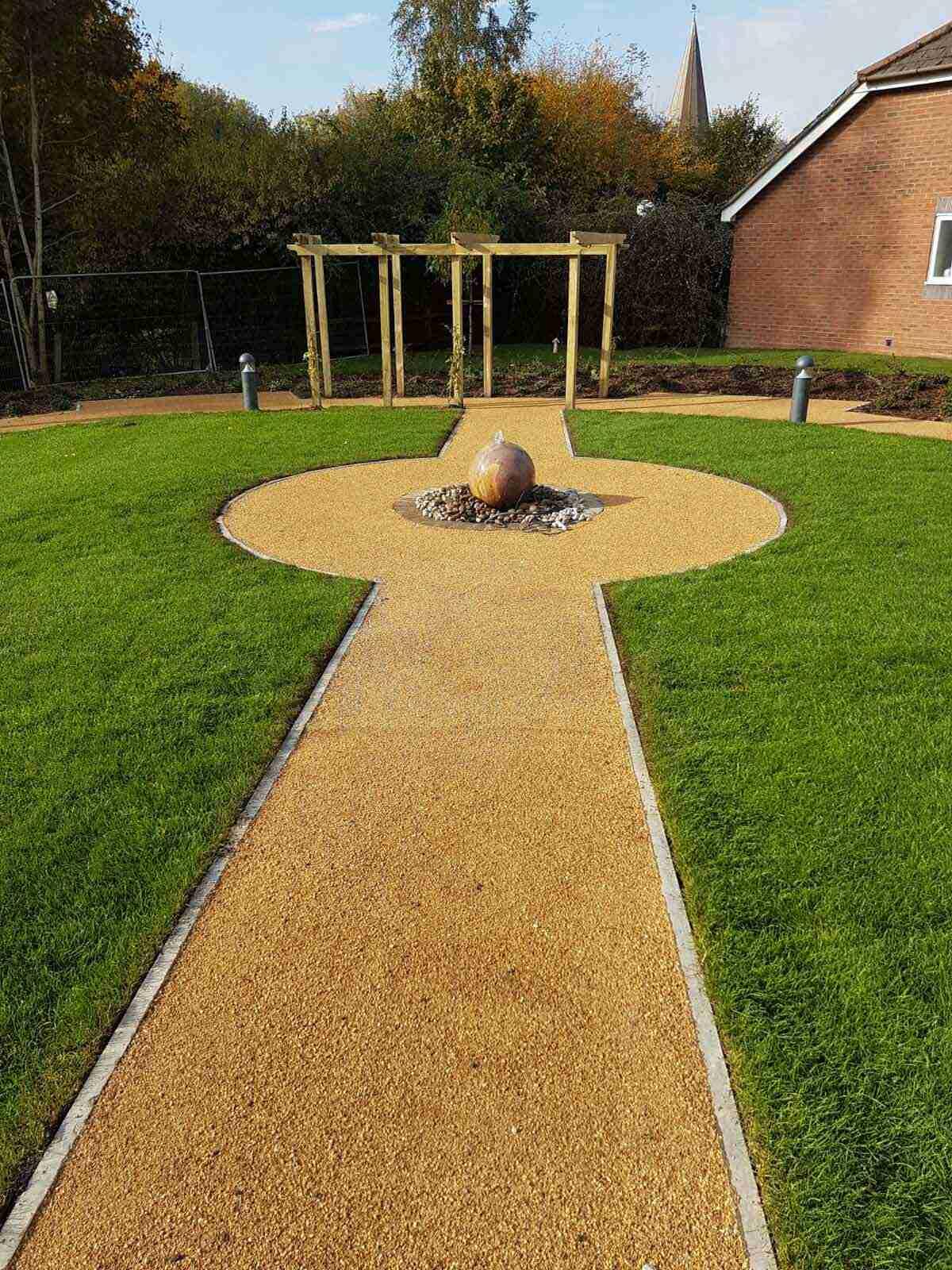 DecraStone Resin Bonded Path - Care Home, Horsham