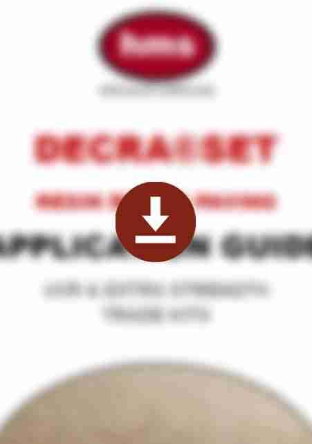 DecraSet Resin Bound Surfacing Application Guide