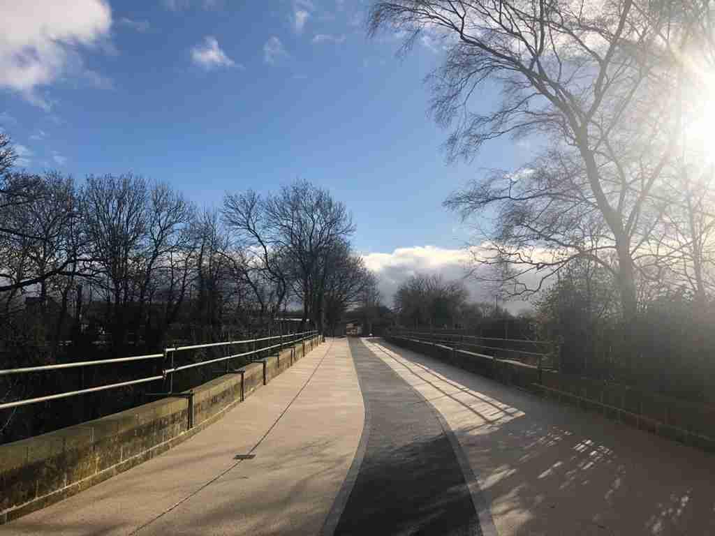Kings Mill Viaduct, Mansfield