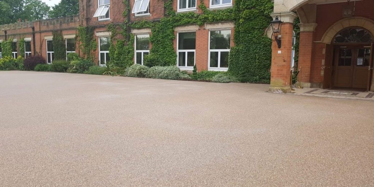 Resin Bound Stone at Ragdale Hall